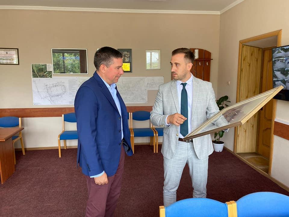 Vizita de lucru a Consolului Onorific al Italiei în Republica Moldova, excelenta Sa, Carlo A Garuzzo în or.Nisporeni
